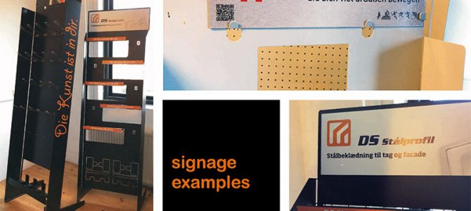 Flip Solution Display – signage examples
