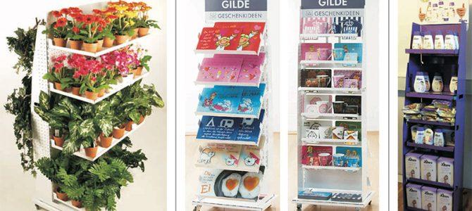 Flip solution display – Merchandising